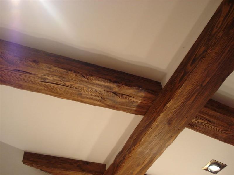 Carpinter a t rtola vigas y techos - Vigas madera techo ...